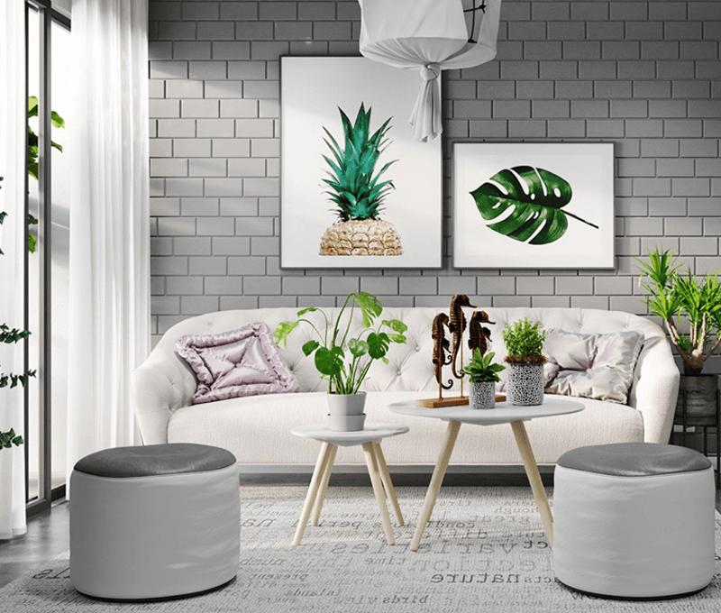 trang trí phòng khách đơn giản 11