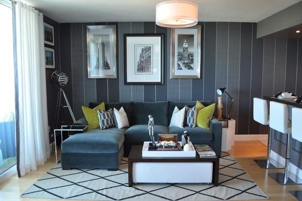thiết kế phòng khách nhỏ 16