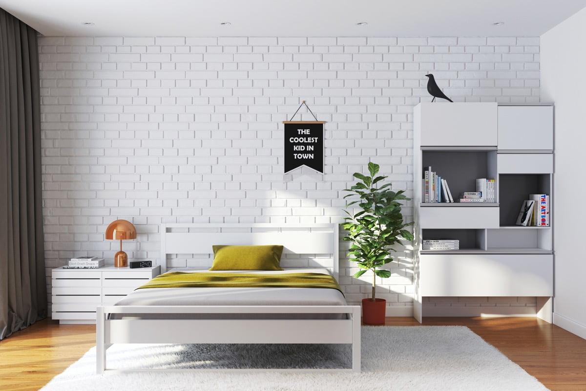 thiết kế phòng ngủ đơn giản 25
