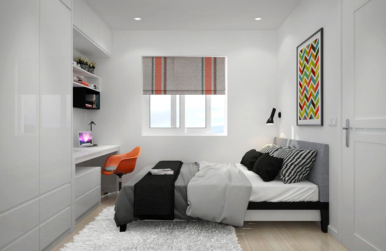 thiết kế phòng ngủ đơn giản 4