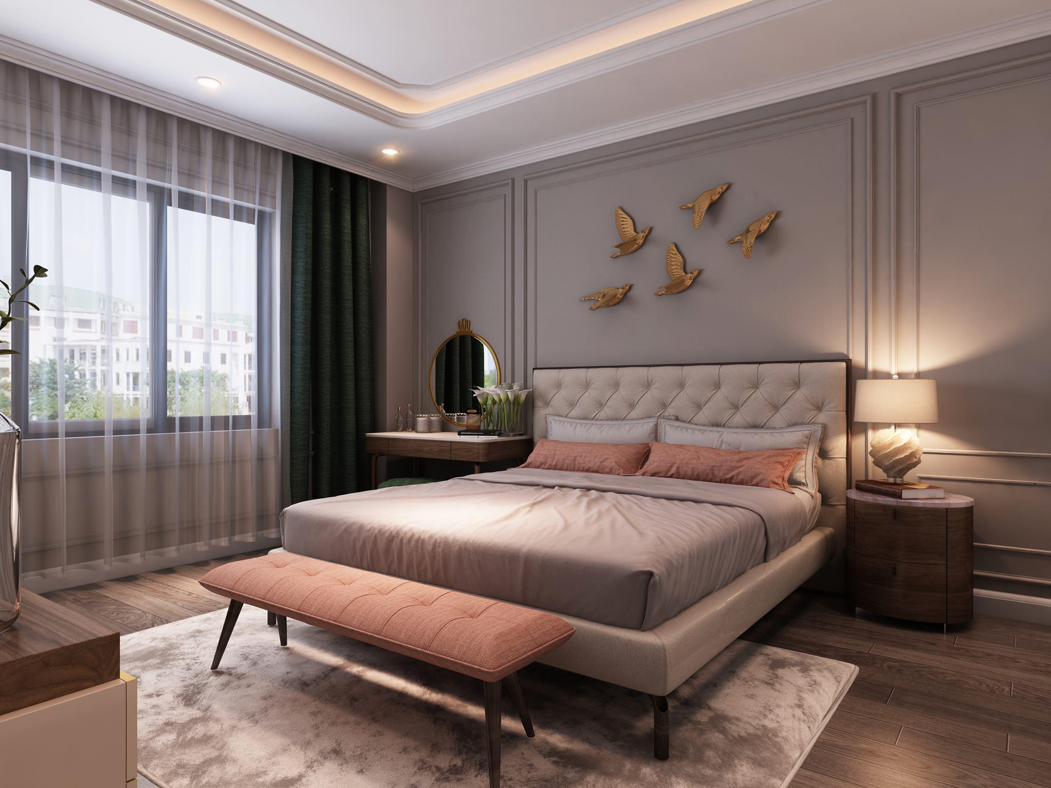 thiết kế phòng ngủ đơn giản 12