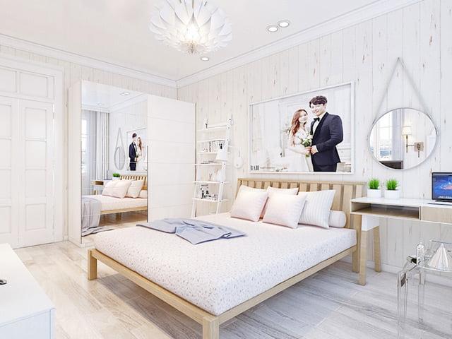 thiết kế phòng ngủ nhỏ đẹp 17