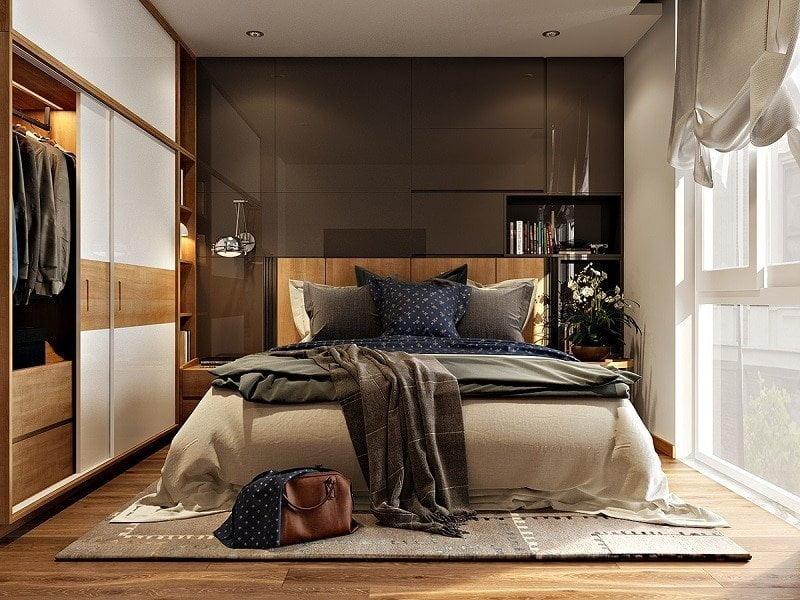 thiết kế phòng ngủ nhỏ đẹp 26
