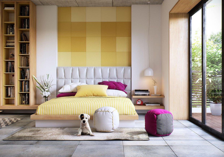 thiết kế phòng ngủ nhỏ đẹp 34