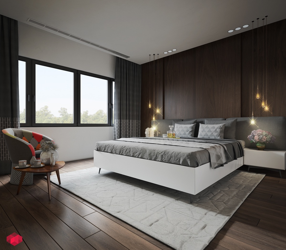 thiết kế phòng ngủ nhỏ đẹp 35