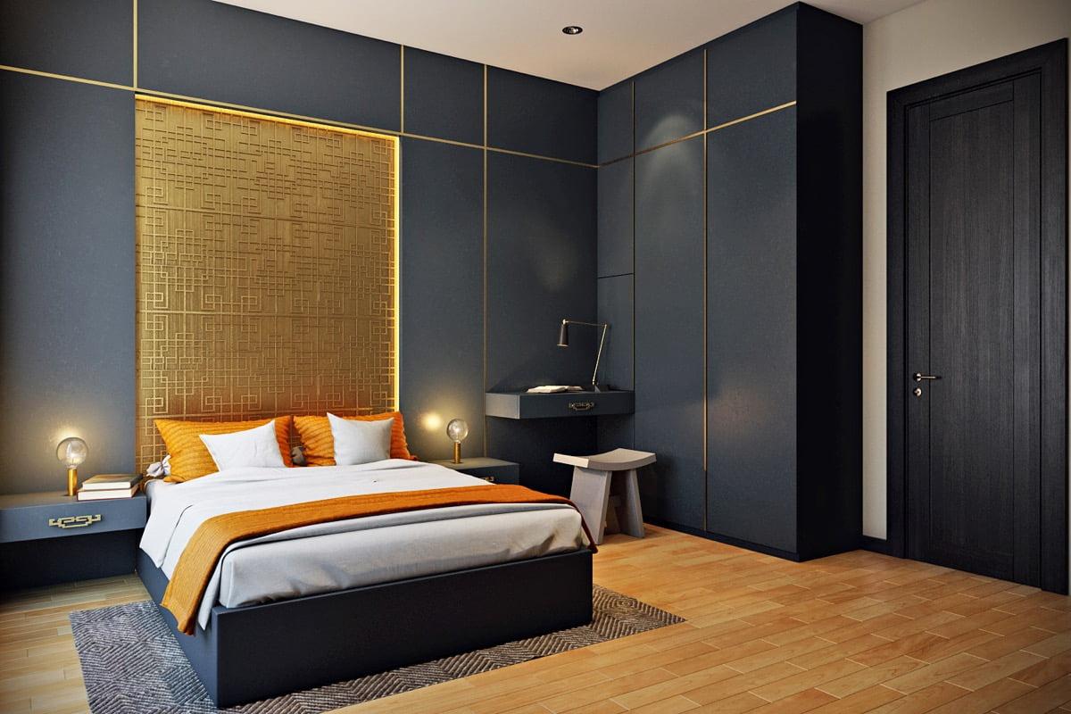 thiết kế phòng ngủ nhỏ đẹp 38