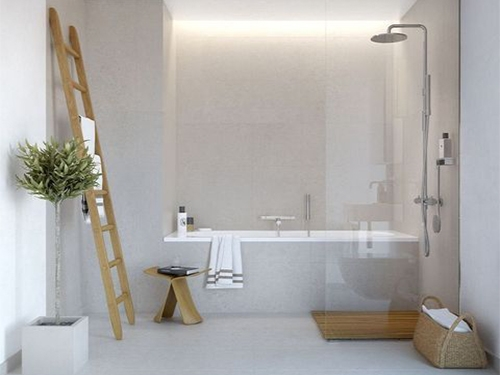 thiết kế phòng tắm 4m2