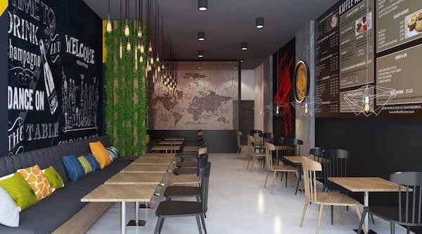 thiết kế quán cafe bình dân 11