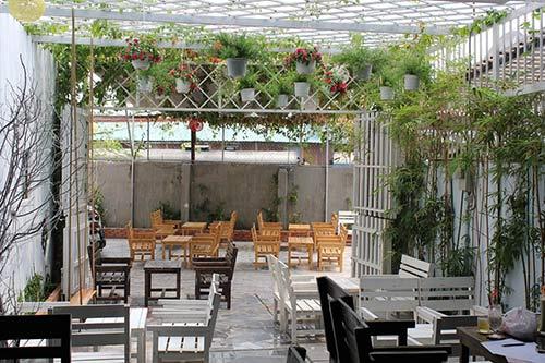 thiết kế quán cafe bình dân 3