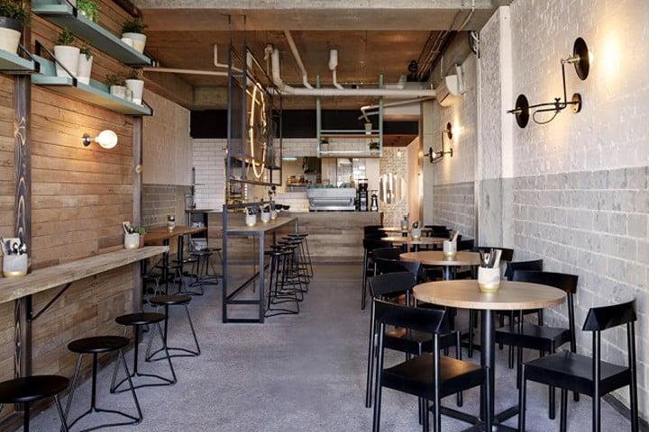 thiết kế quán cafe bình dân 8