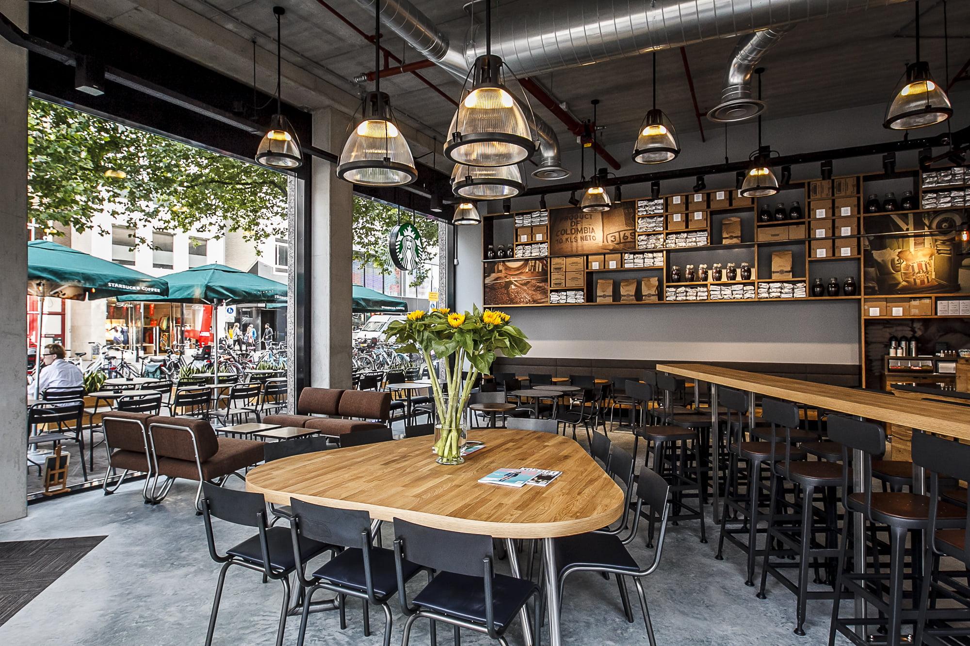 mẫu thiết kế quán cafe đơn giản thịnh hành hiện nay 8