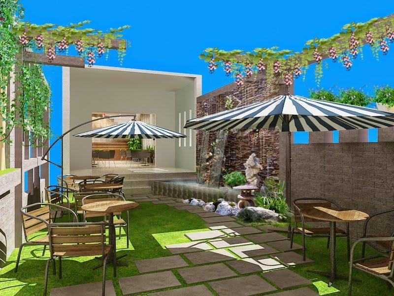 mẫu thiết kế quán cafe đơn giản thịnh hành hiện nay 9