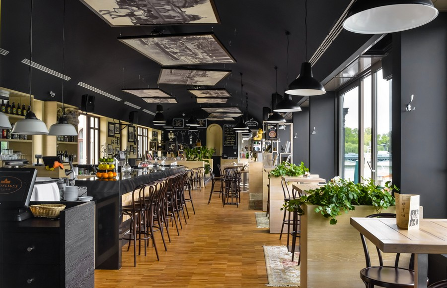 mẫu thiết kế quán cafe đơn giản thịnh hành hiện nay 6