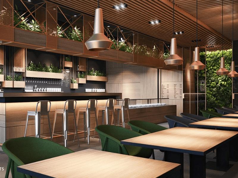 thiết kế quán cafe giá rẻ đẹp 4