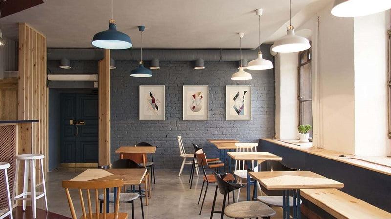 thiết kế quán cafe giá rẻ đẹp 12