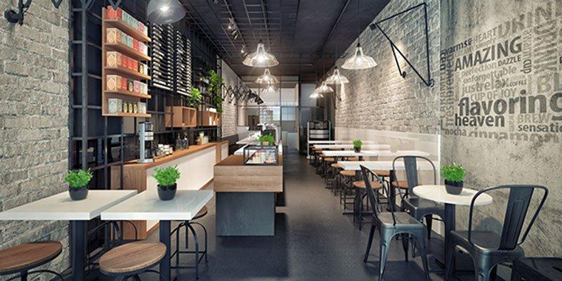 thiết kế quán cafe giá rẻ đẹp 6