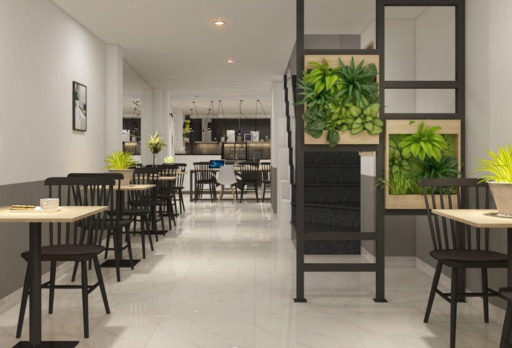 thiết kế quán cafe giá rẻ đẹp 8