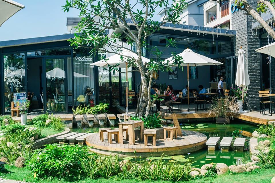 thiết kế quán cafe sân vườn đẹp 5