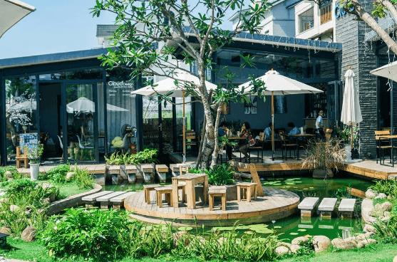 thiết kế quán cafe sân vườn diện tích nhỏ 14