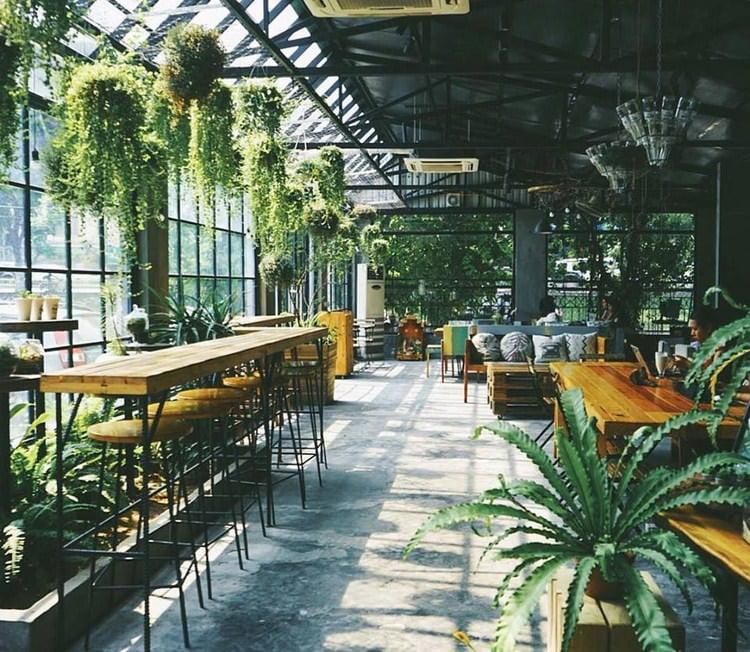 thiết kế quán cafe sân vườn diện tích nhỏ 1