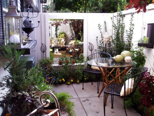 thiết kế quán cafe sân vườn diện tích nhỏ 7