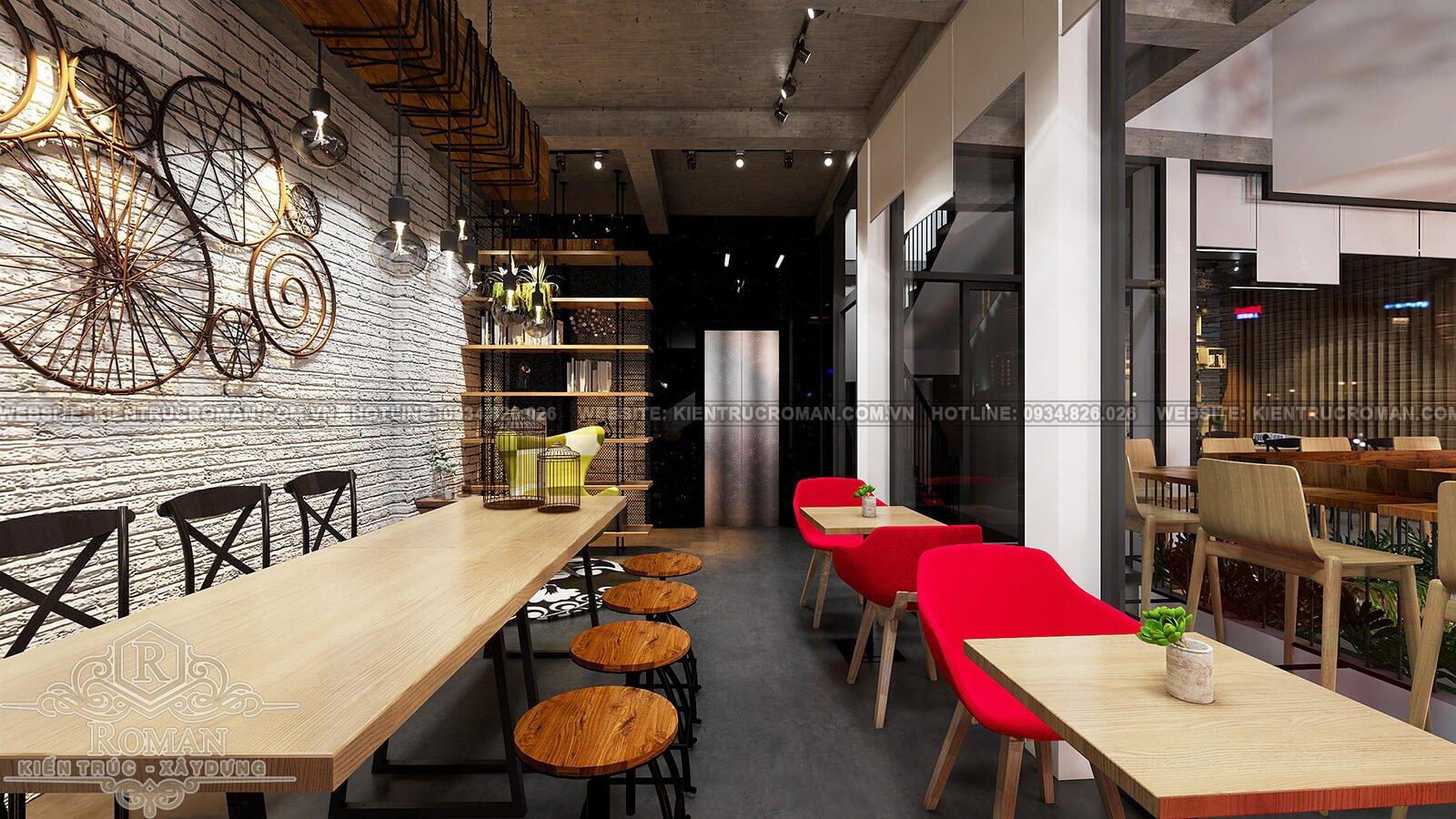 thiết kế quán cafe trọn gói