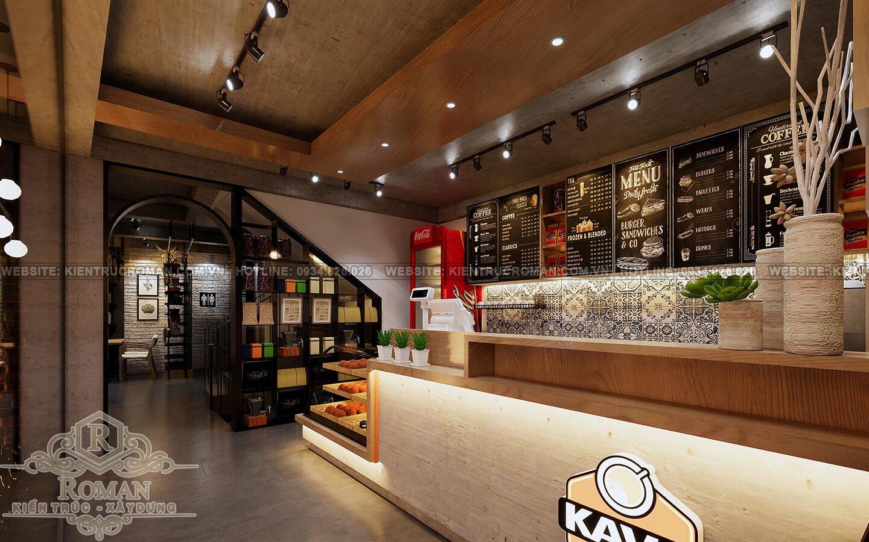 thiết kế quán cafe trọn gói nội thất