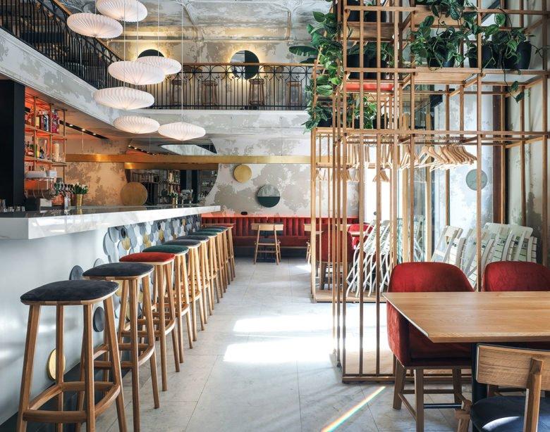 thiết kế thi công nội thất nhà hàng 13