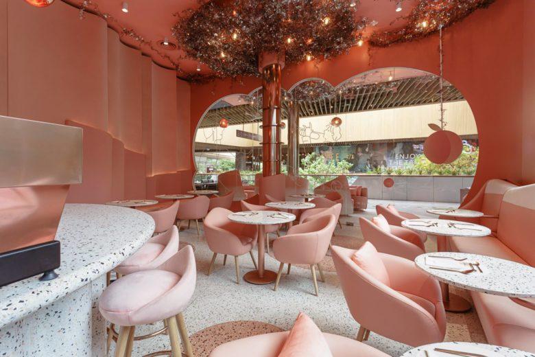 thiết kế thi công nội thất nhà hàng 16
