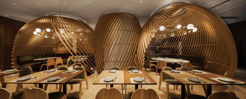 thiết kế thi công nội thất nhà hàng 4