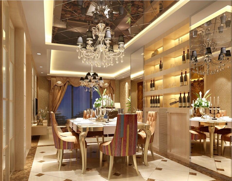 thiết kế thi công nội thất nhà hàng 6