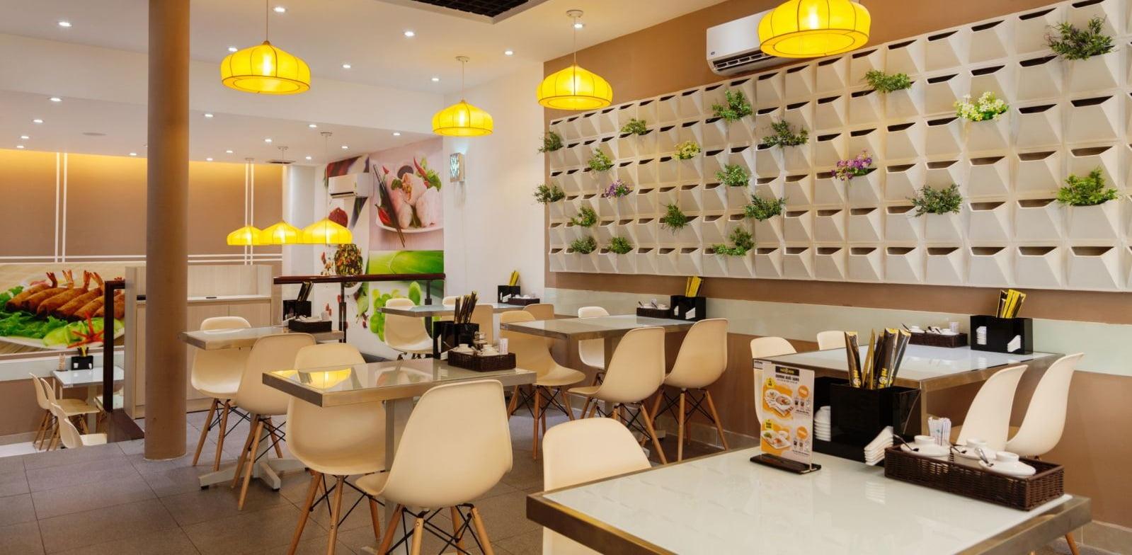 thiết kế thi công nội thất nhà hàng 7