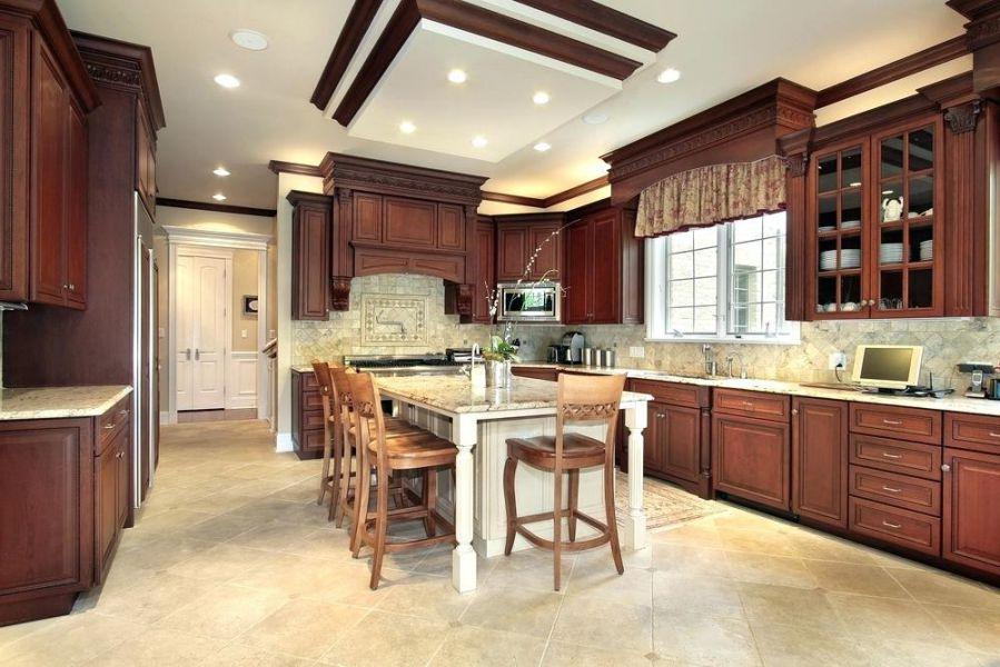 trần thạch cao phòng bếp 16