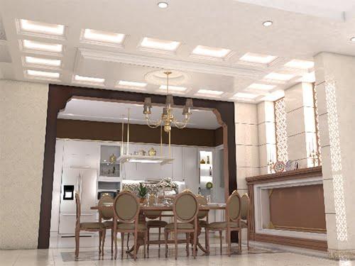 trần thạch cao phòng bếp 17
