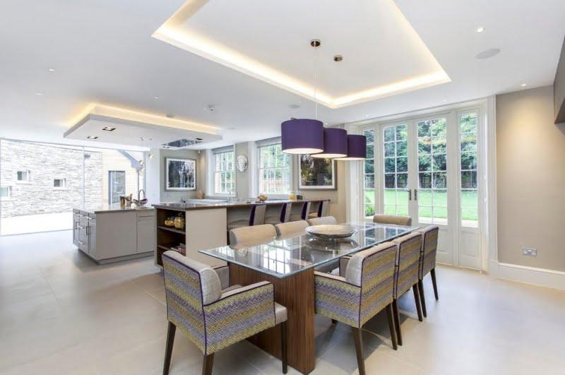 trần thạch cao phòng bếp 7