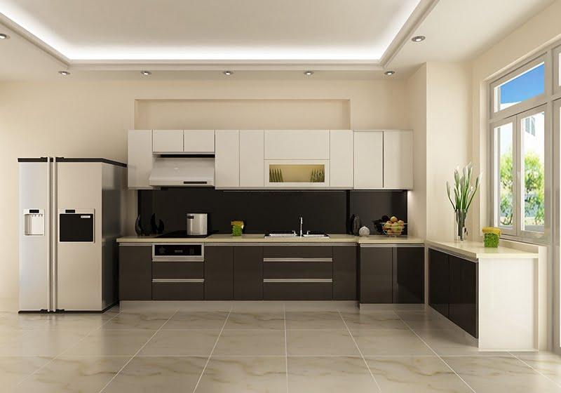 trần thạch cao phòng bếp 8