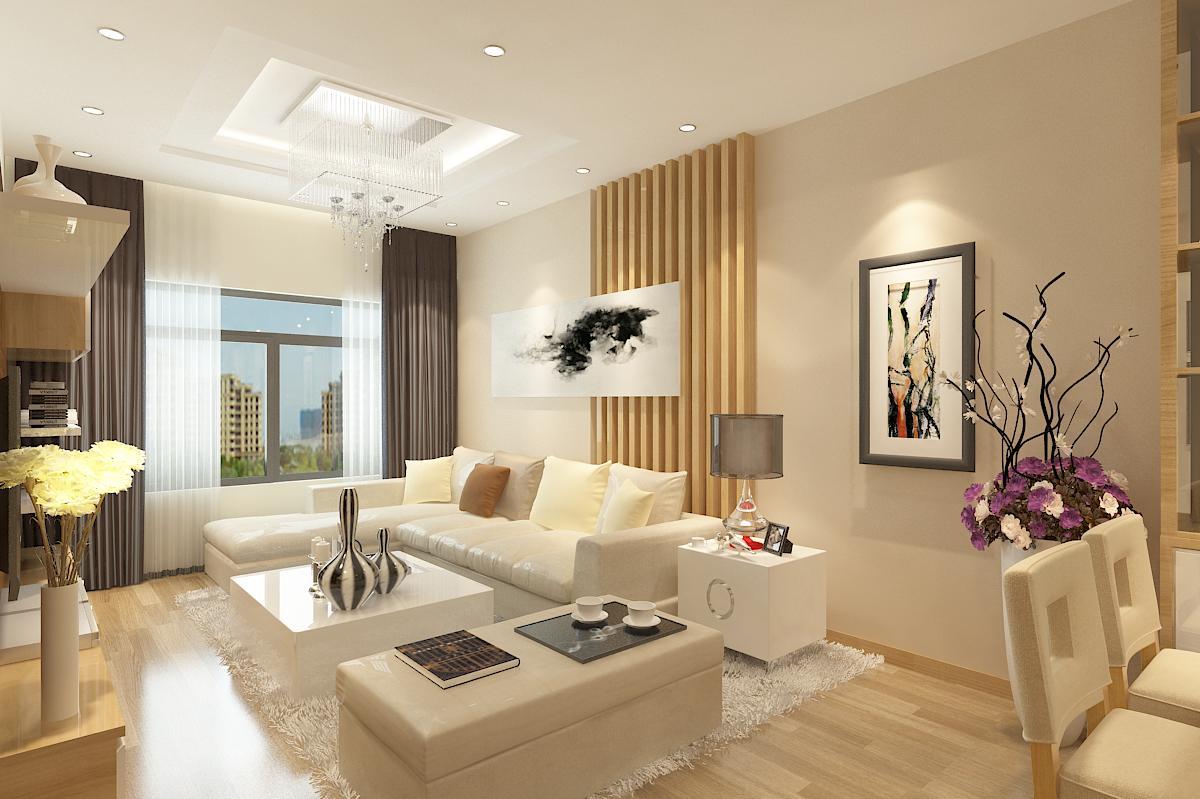 trần thạch cao phòng khách đơn giản 21