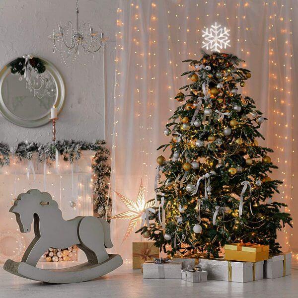 trang hoàng nhà cửa đón Noel