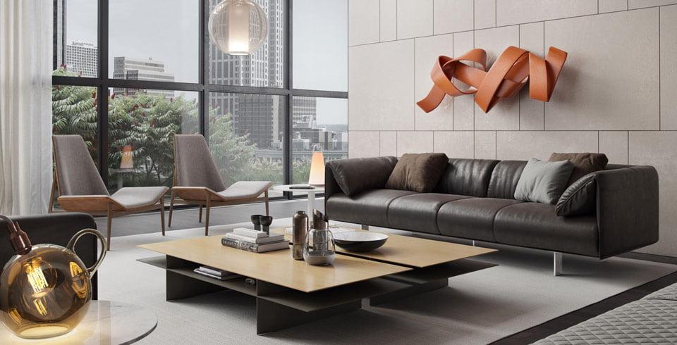 trang trí phòng khách đơn giản 5