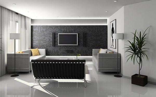 trang trí phòng khách nhà cấp 4 22