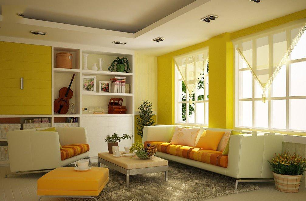 trang trí phòng khách nhà cấp 4 4