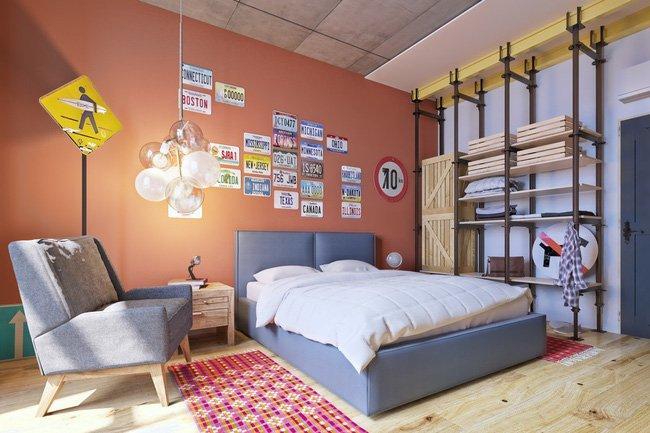 trang trí phòng ngủ đơn giản mà đẹp 1