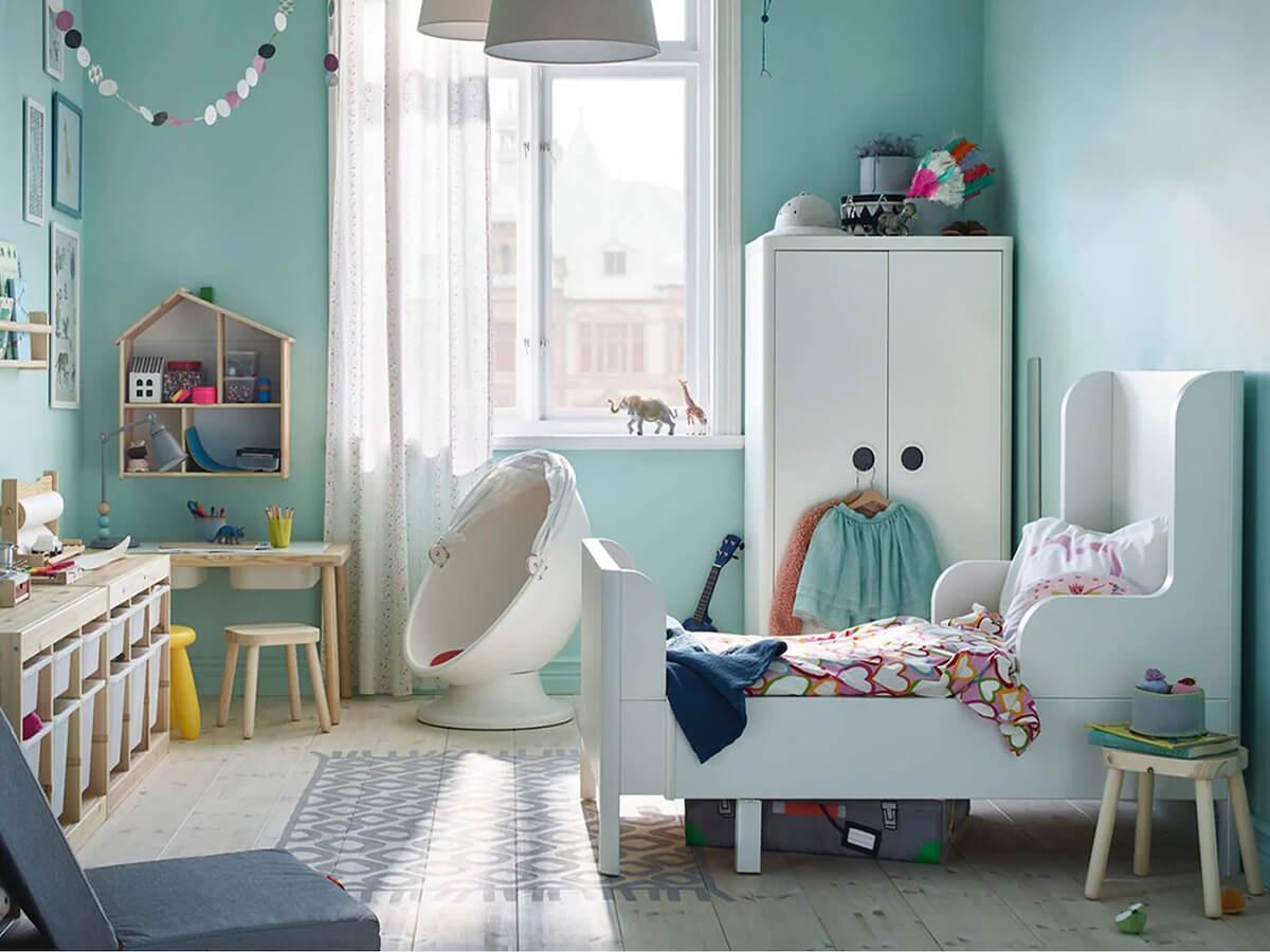 trang trí phòng trẻ con