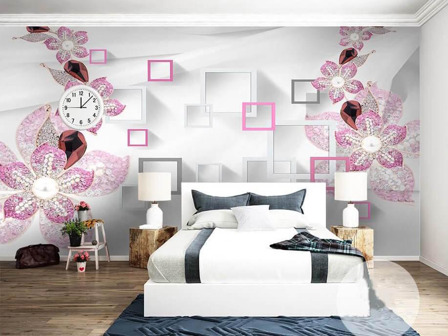 tranh 3d phòng ngủ 1