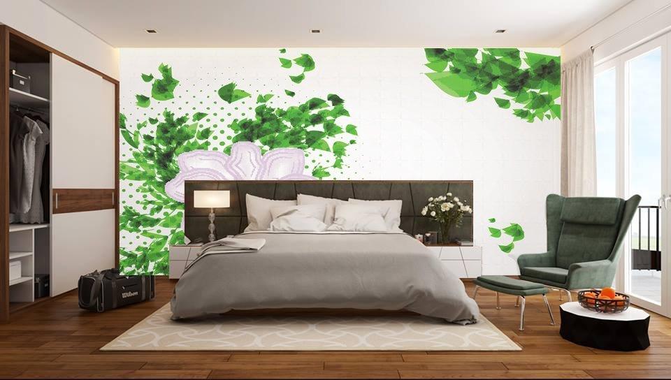 tranh 3d phòng ngủ 10