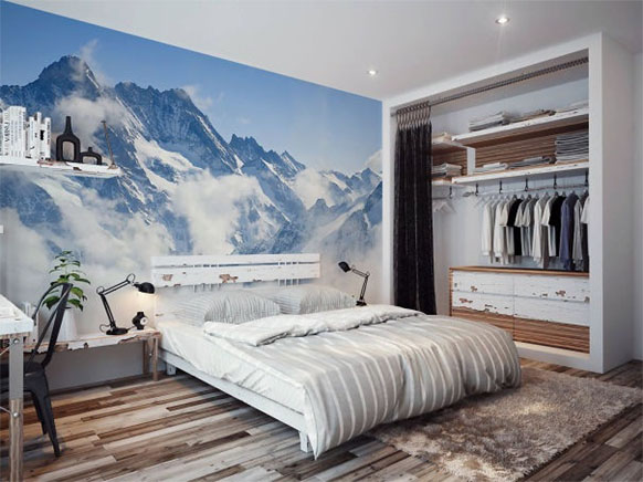 tranh 3d phòng ngủ 11