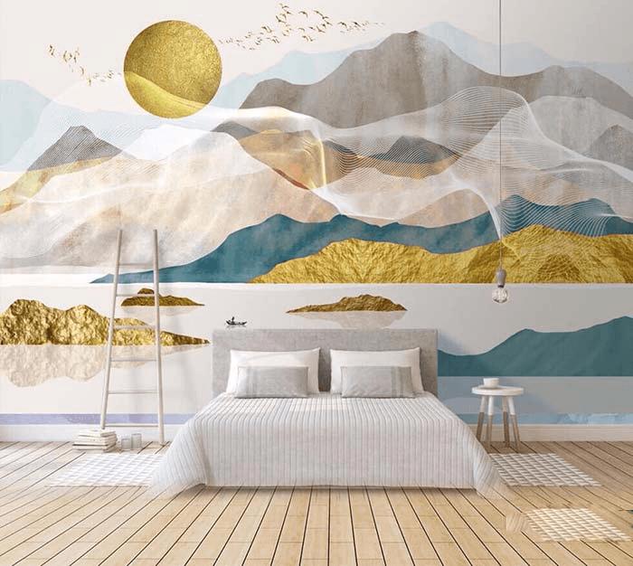 tranh 3d phòng ngủ 21