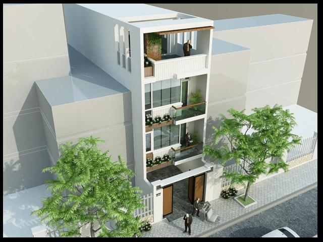 Tư vấn thiết kế nhà ở kết hợp văn phòng cho thuê với chi phí hợp lý 1