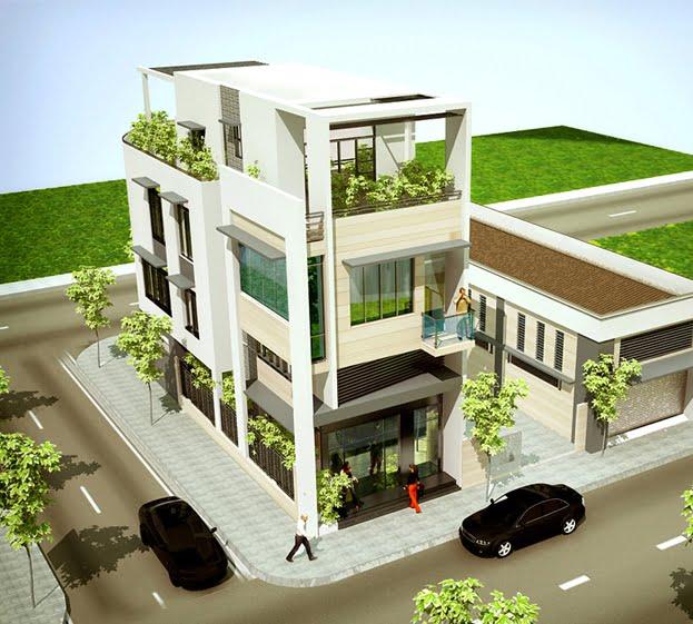 Tư vấn thiết kế nhà ở kết hợp văn phòng cho thuê với chi phí hợp lý 5