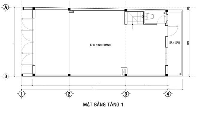 Tư vấn thiết kế nhà ở kết hợp văn phòng cho thuê với chi phí hợp lý 6